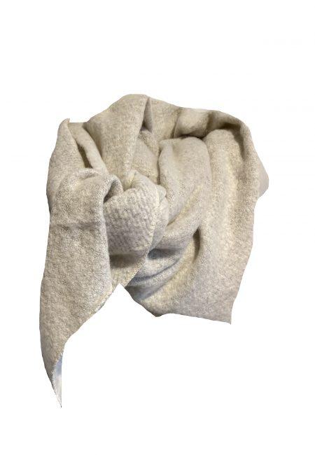Lange zachte shawl wit
