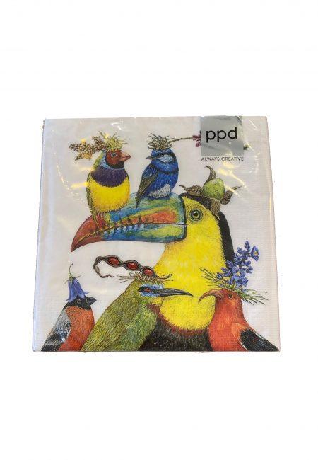 Design servertten met vogels (1)