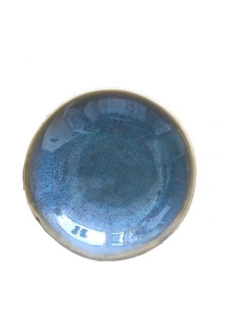 Tpas bakje rond blauw