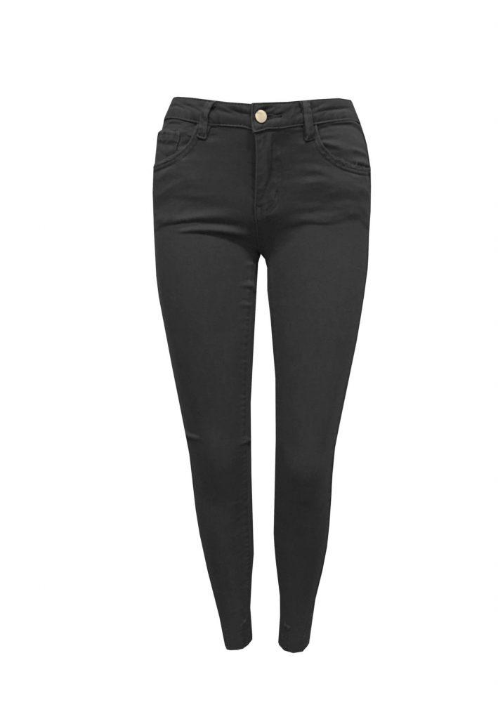 5 pocket zwarte full stretch jeans