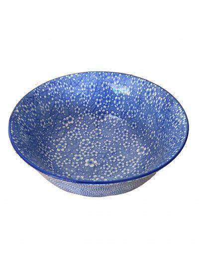 Blauw aarderwerk schaaltje1