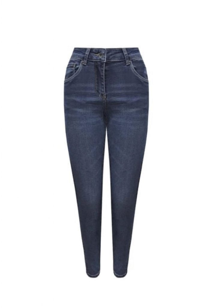 Donkere wassing full stretch jeans