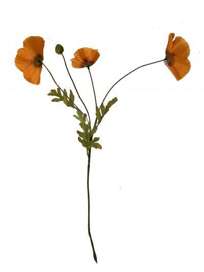 Kunstbloem oranje