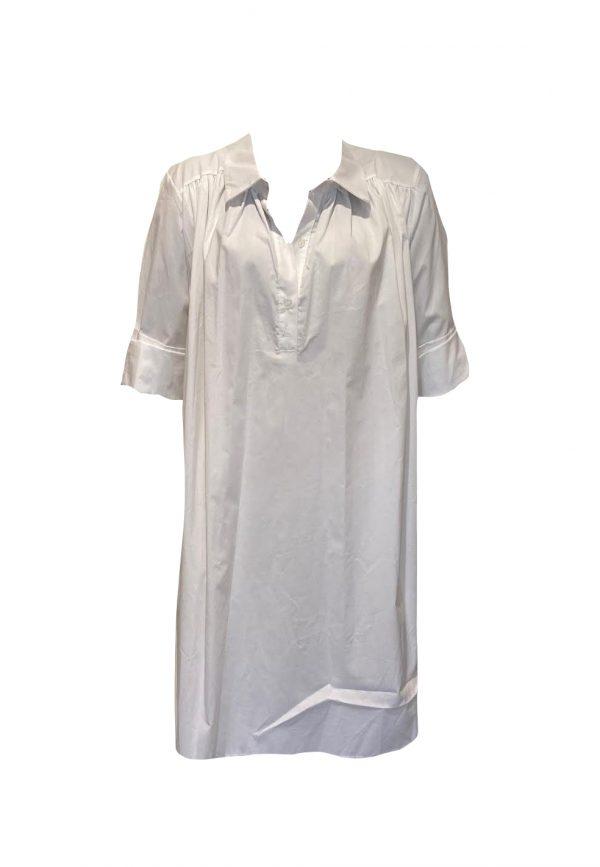 Witte oversized blouse/jurk
