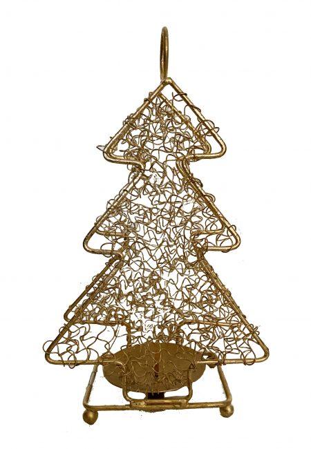 Kerstboom met kaarsje
