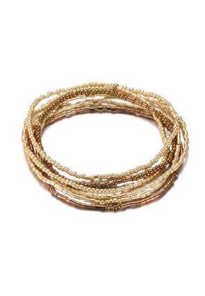 Elastische kralen armbandje