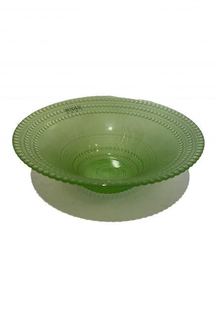 Glazen schaaltje groen