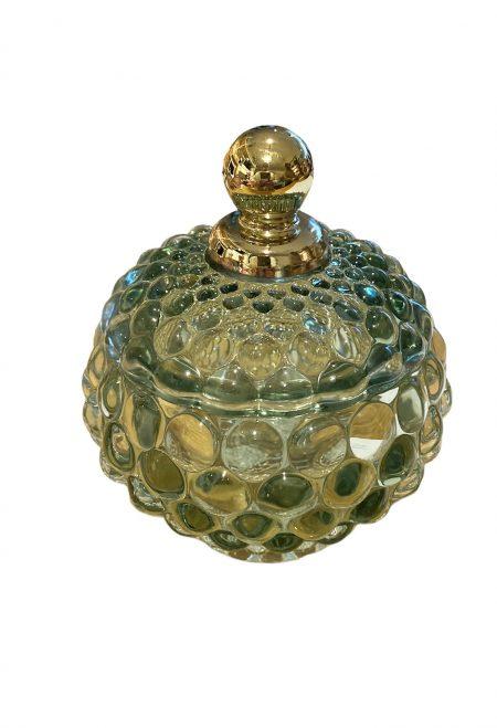 Glazen bijouterie/decoratie potjes