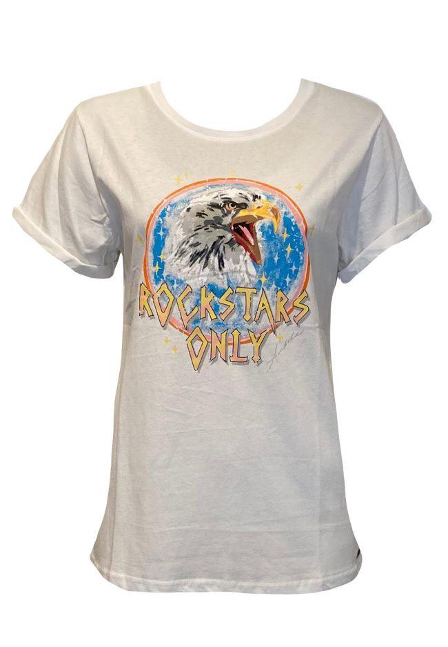 Stoer t-shirt met opdruk