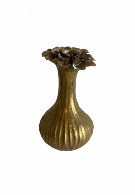 Gouden vaas midden maat