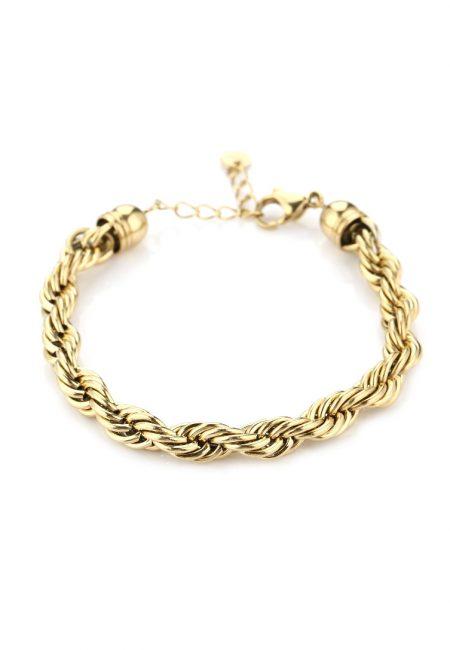 Statement goudkleurige armband