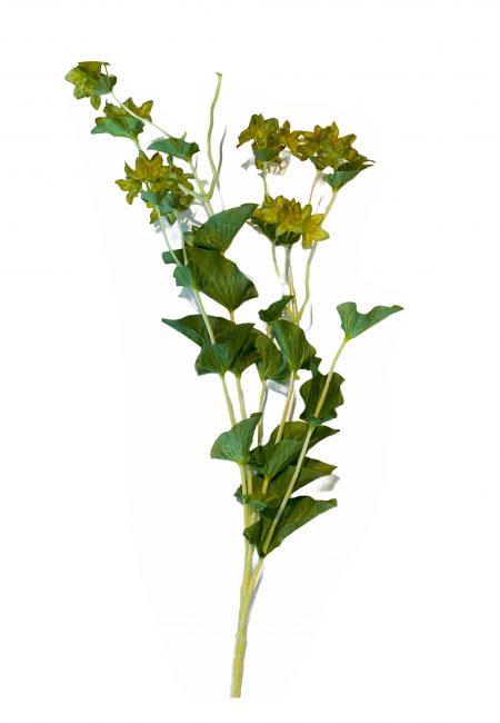 Kunstbloem groen/geel