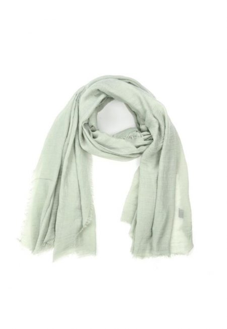 Mintgroene shawl