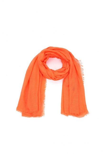 Oranje shawl