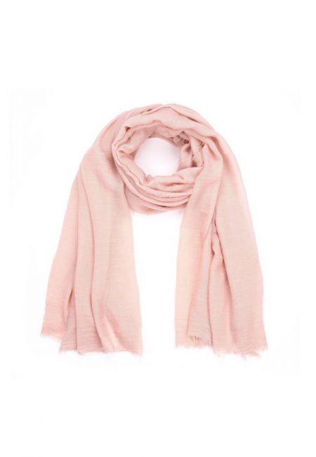 Roze shawl