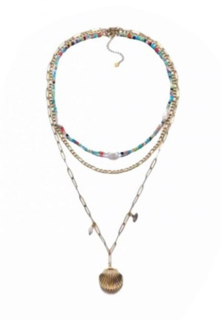 Statement ketting 3 in 1