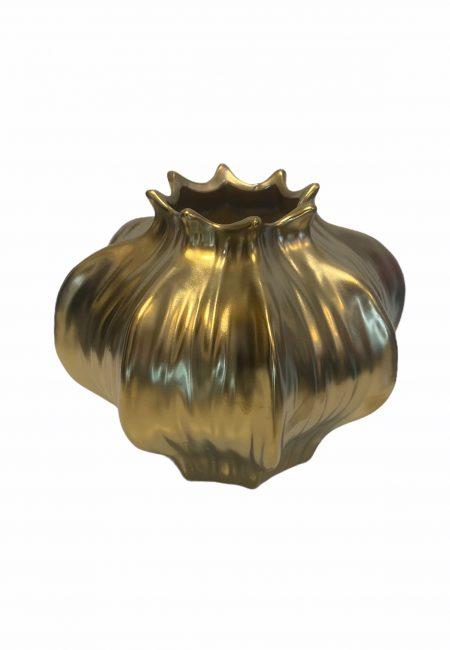 Gouden vaas 13 cm