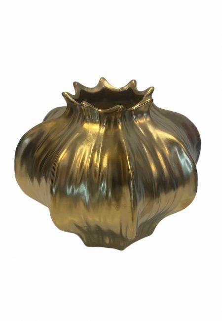 Gouden vaas 15 cm
