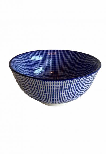 Blauw aardeerk schaaltje
