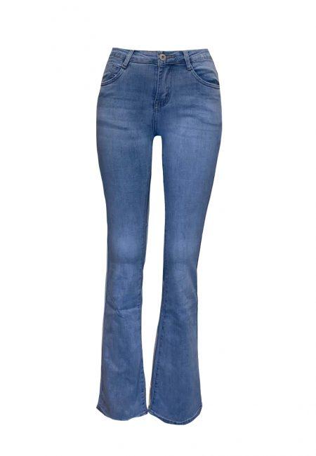 Full stretch flared jeans