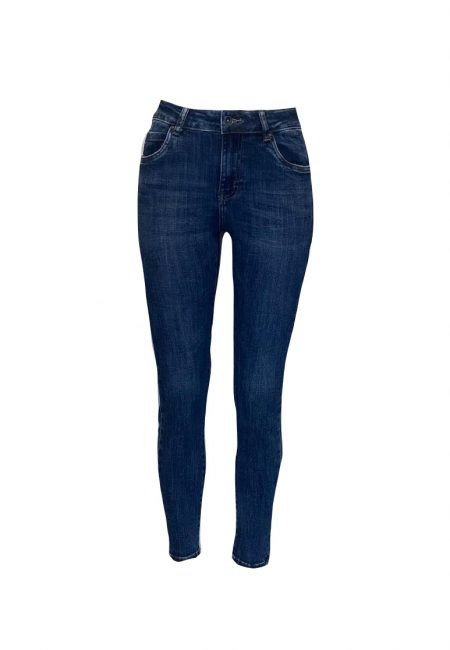 Full stretch jeans donkere wassing