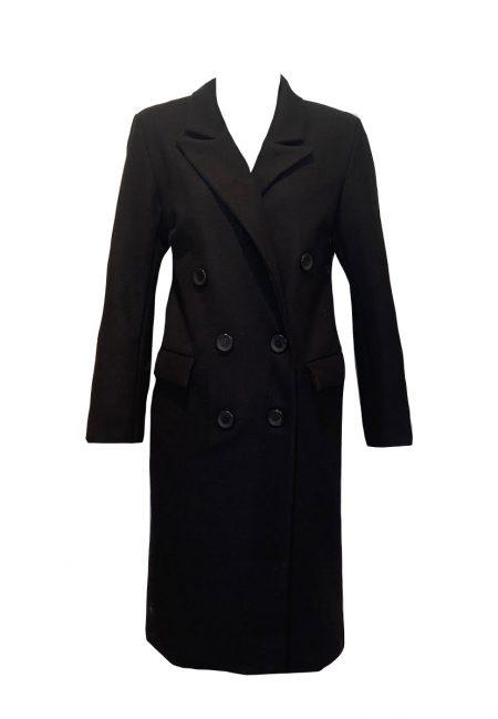 Klassieke zwarte blazer jas